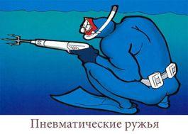 Ружье для подводной охоты пневматическое