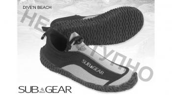 Короткие боты к гидрокостюму для дайвинга SEEMANN DIVE'N BEACH