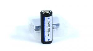 Аккумулятор литий-ионный (Li-Ion) габарит 26650 с защитой