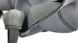 Качество вшивания накладки