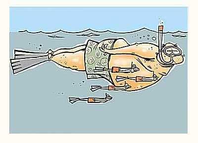 Ласты для подводной охоты или