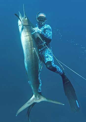 Подводная охота - ласты